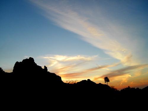 Sunset Camelback Mountain Camelback Mountain Arizona