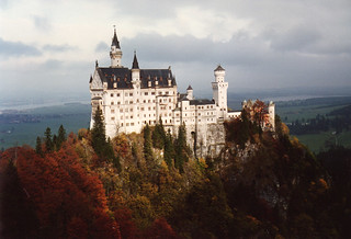 neuschwanstein castle schloss fall colors | by mbell1975