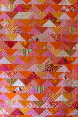 flock of triangles quilt 1 | by swim notes