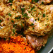 chicken with almonds and green olives