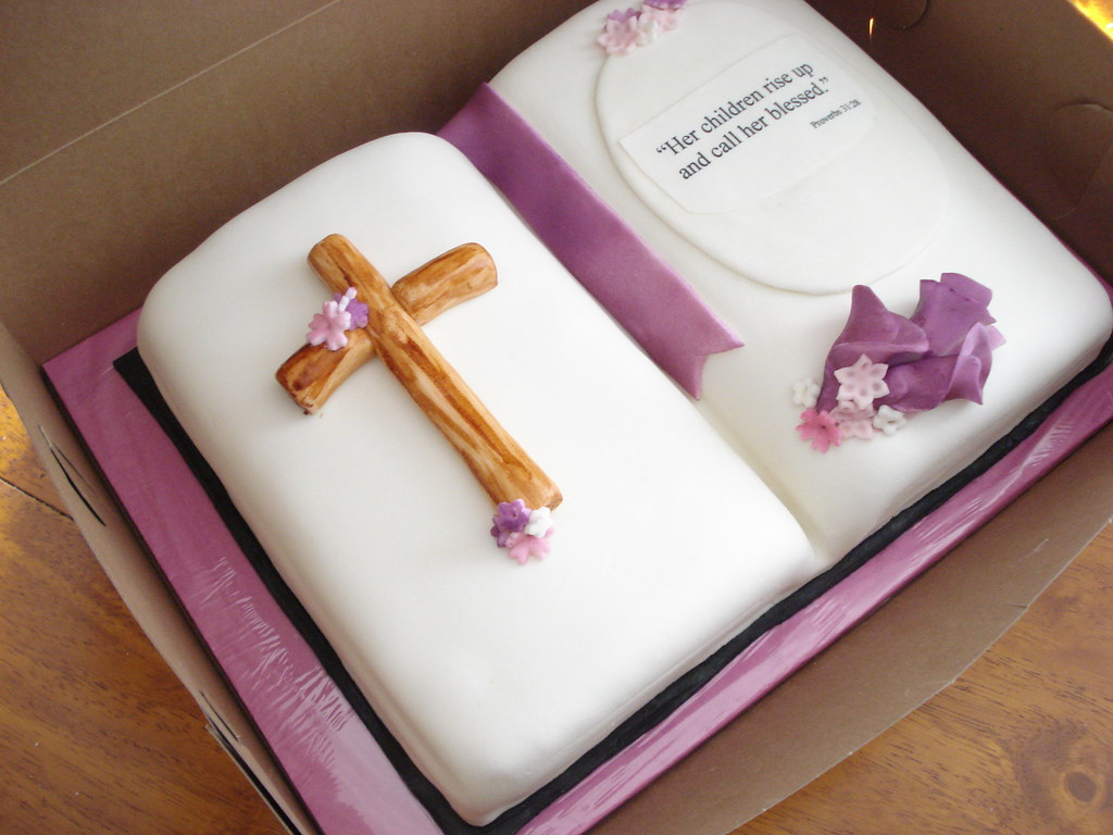 Bible Cake Kelly Lindquist Flickr