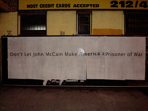 Don't Let John McCain Make America a Prisoner of War | by guy_on_the_streets