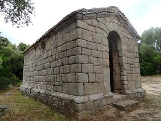 Chapelle San Quilichinu à Montilati