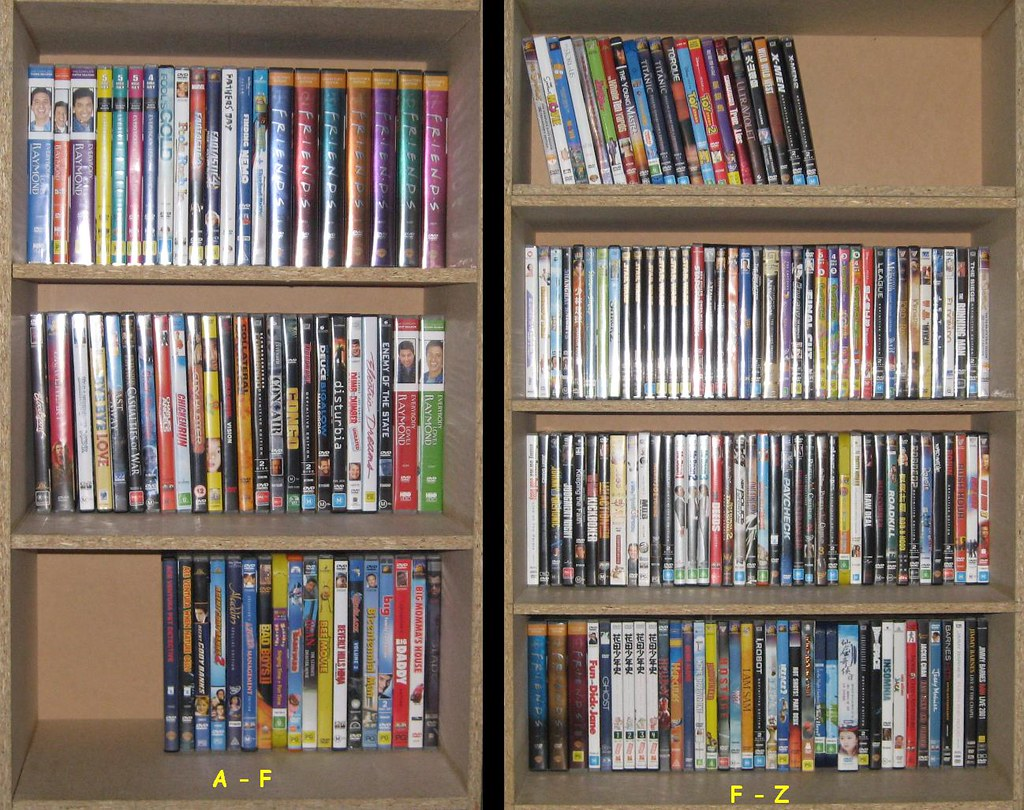 MY DVD COLLECTION   THIS PHOTO WAS UPDATED 28N