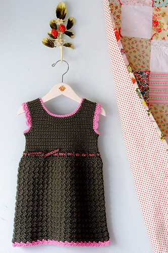 My Bella Crocheted Baby Dress | by Alicia Paulson