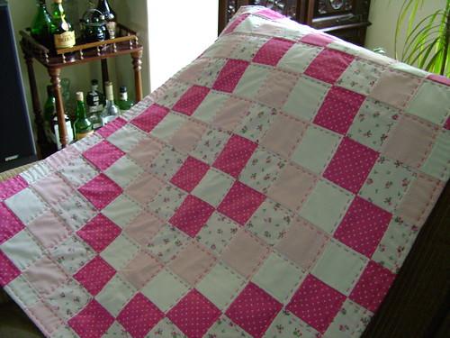 manta patchwork beb manta totalmente feita m o flickr. Black Bedroom Furniture Sets. Home Design Ideas