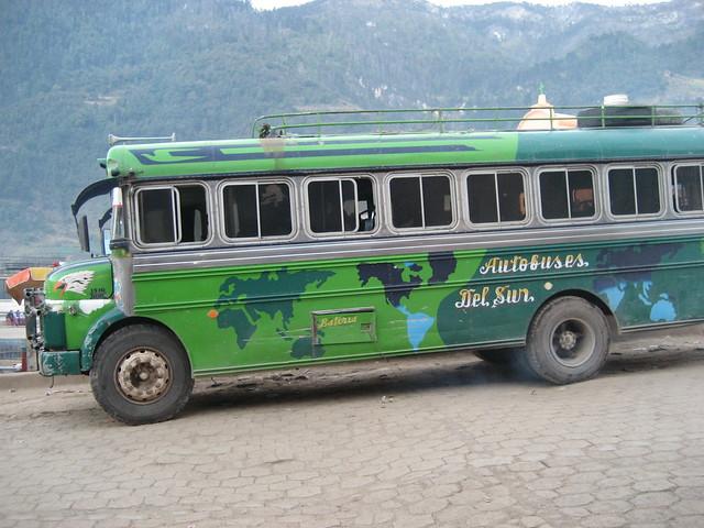 A Worldly Chicken Bus