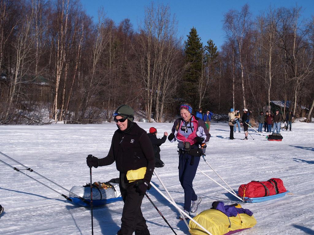 Loreen Hewitt And Anne Ver Hoef Iditarod Trail