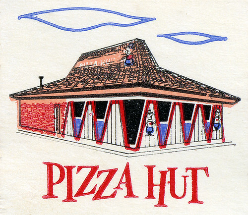 Pizza Hut, 1960's | by Roadsidepictures