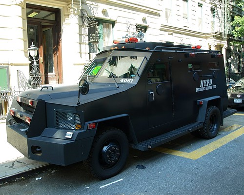 P013s NYPD Emergency Service Unit Police Vehicle, Lower Midtown, New York City | by jag9889