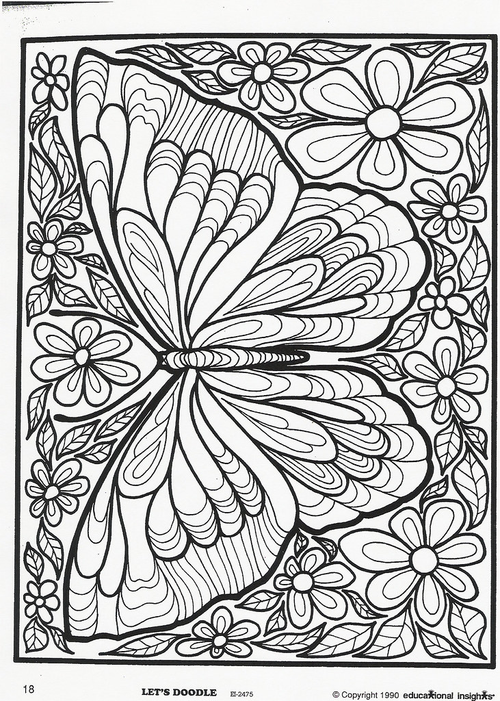 Butterfly Let S Doodle Letsdoodlemama Flickr