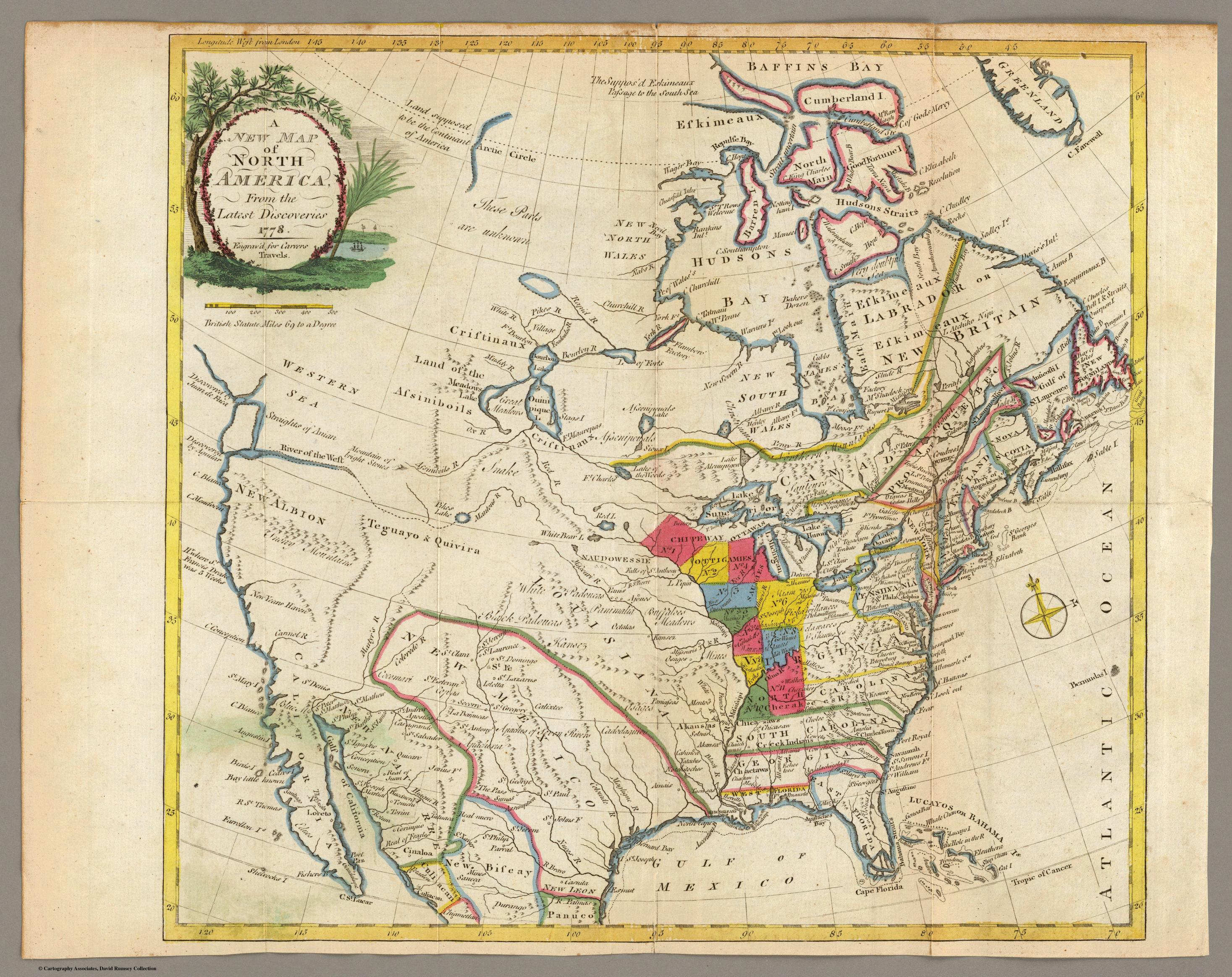 Historical Maps Of The United States And North America Vivid Maps - Old us map