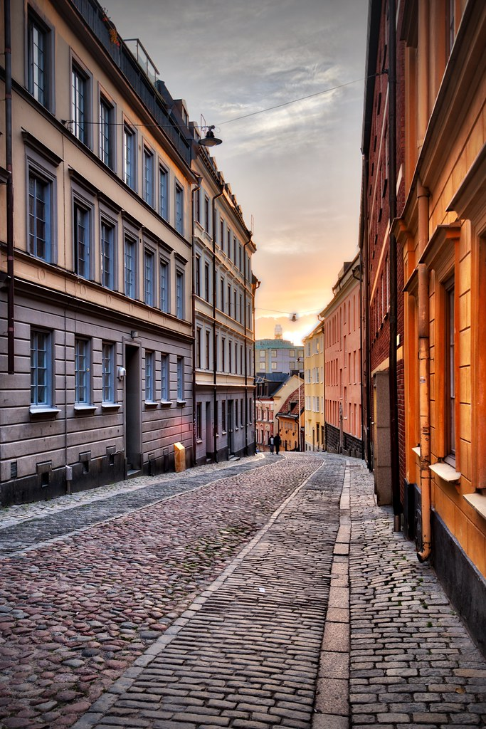 Road in Södermalm