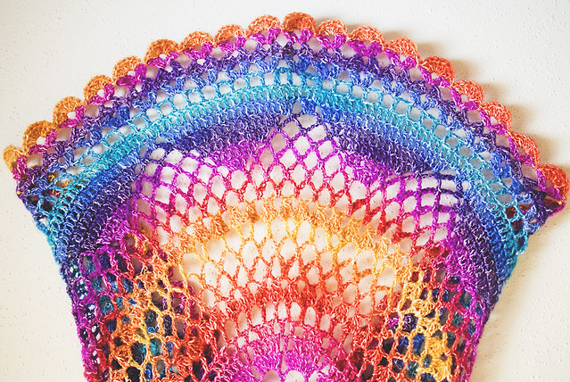 Rainbow Willow lace