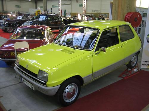 Renault 5 TL jaune