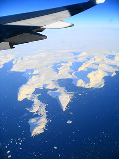 Greenland from 38,000 feet | by Σταύρος