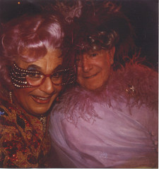 My Dad with Dame Edna | by rmd1023