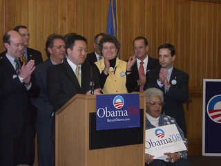 State Democrats Support Obama | by WNPR - Connecticut Public Radio