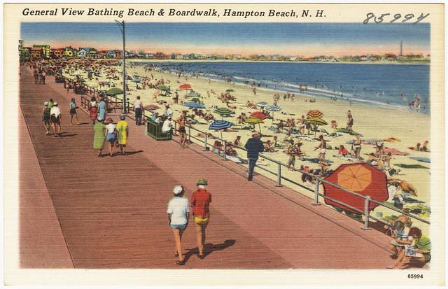 how to get to hampton beach