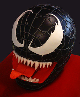 venom cake | by Tuff Cookie cakes by Sylvia
