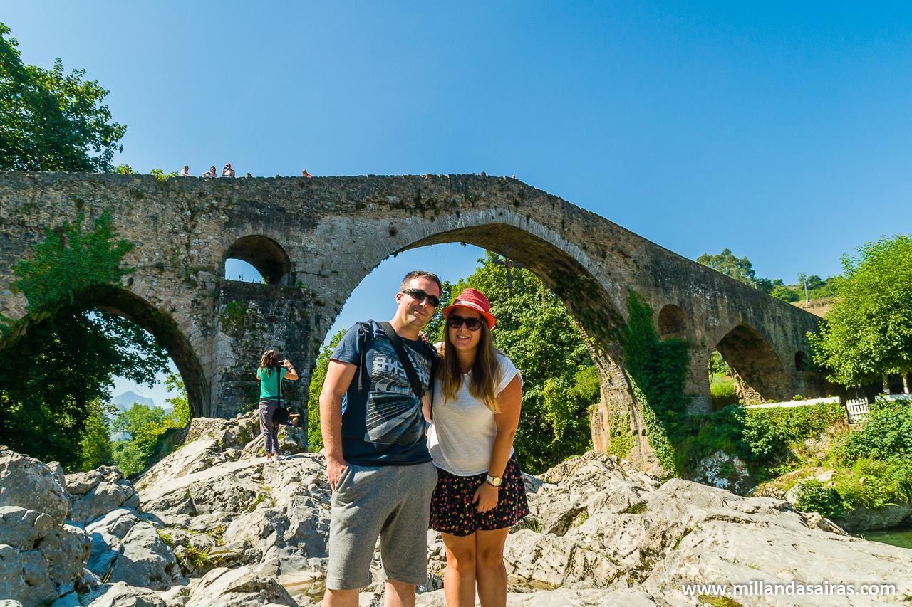 Puente romano enmarcandonos