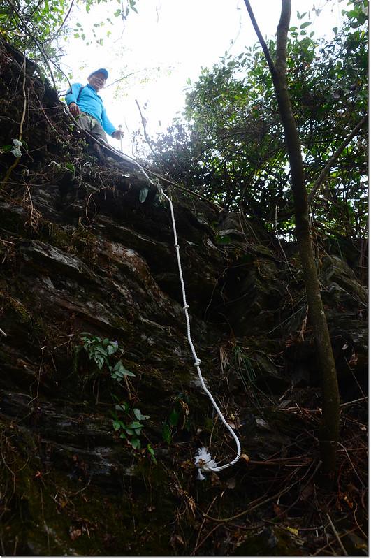 吐蛇流西北峰登山路徑 2