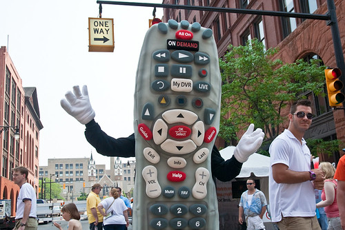 Comcast Remote Mascot Rubber Suit 2011 Festival of the Arts June 04, 201124 | by stevendepolo