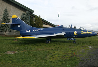 Evergreen Aviation Museum TF9-J Cougar | by planephotoman