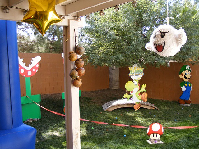 Super Mario Birthday Party Not for sale SGA Creative Flickr