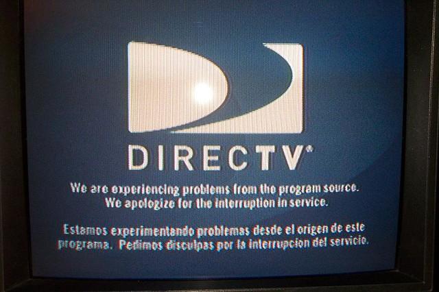 directv problem in service