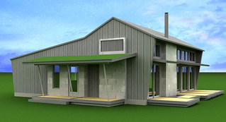 Greensburg House X Preliminary Rendering | by moderns_r_us
