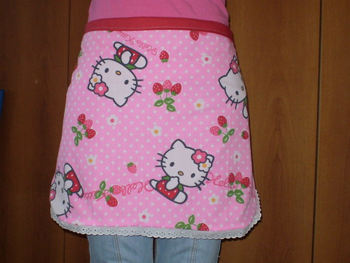 Hello Kitty Apron | by ♡ rumik73  For the love of Blythe ♡
