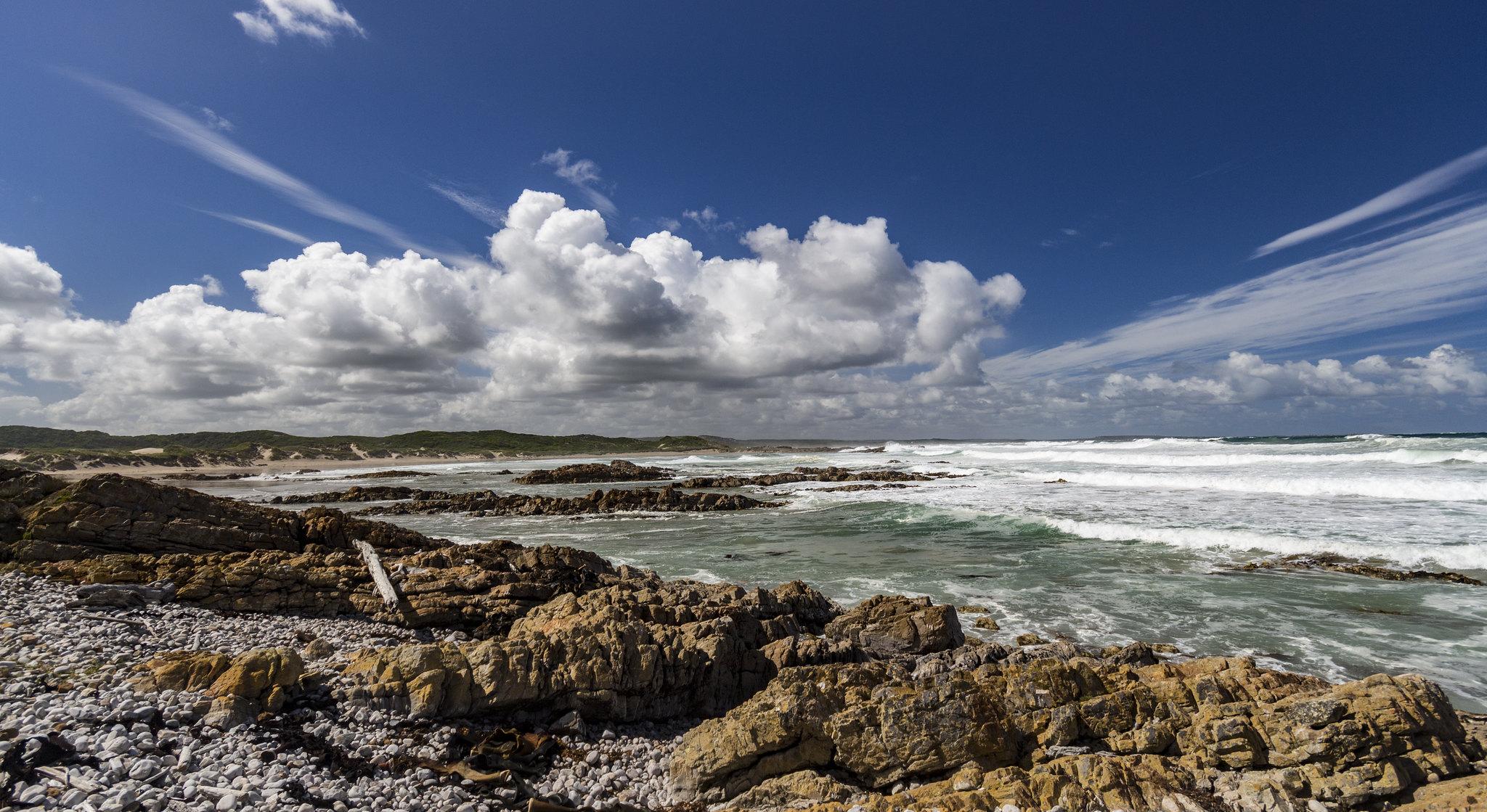 Lighthouse Beach, Tasmania.