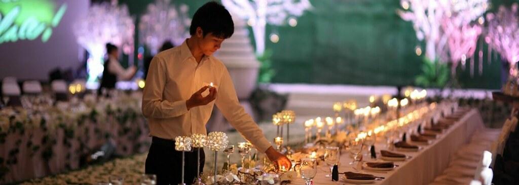Các loài hoa thường dùng trong nhà hàng tiệc cưới