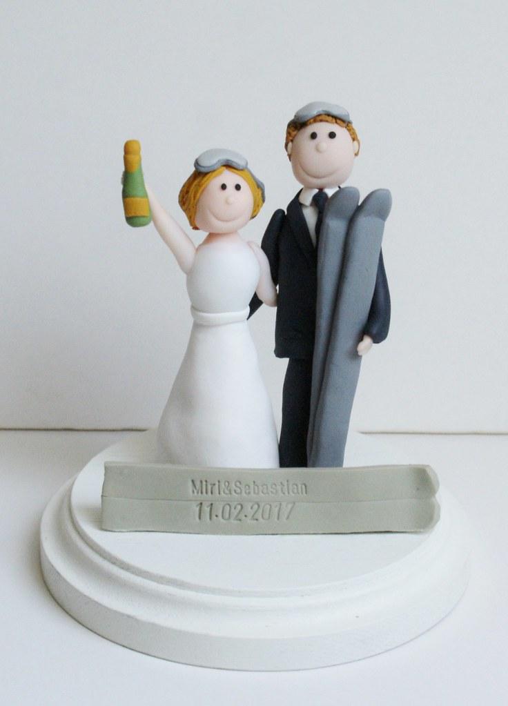 Hochzeitstortenfigur Tortenfiguren Individuelletortenfig Flickr