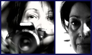 Me  ,through the eye of my new 50mm lens... | by Teteel