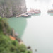 Boats in Ha Long Bay (tilt-shift)