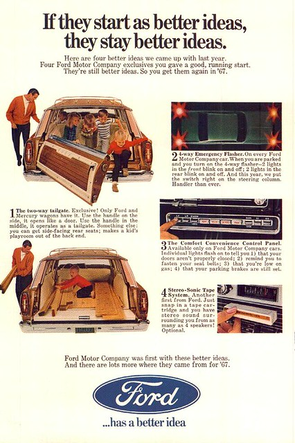 ... Ford  Magic Door Gate  station wagon ad | by te&erks  sc 1 st  Flickr & Ford