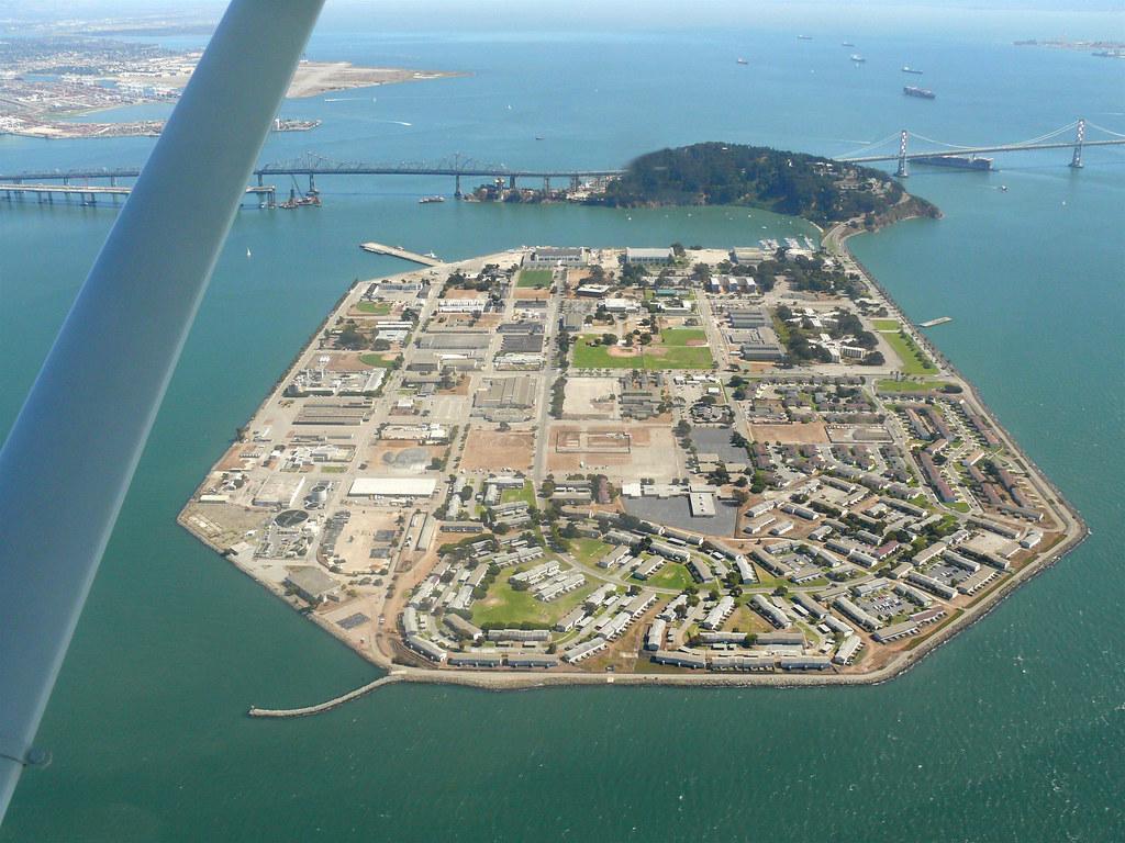 My former residence Treasure Island San Francisco
