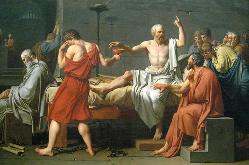 NYC - Metropolitan Museum of Art - Death of Socrates | by wallyg