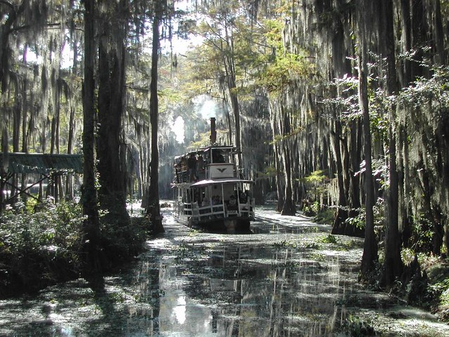 Caddo Lake Steamboat Wood Fired With A Paddle Wheel Flickr