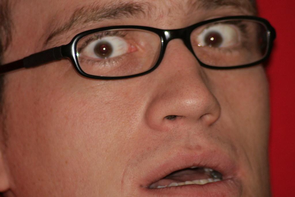 Frightened Matt