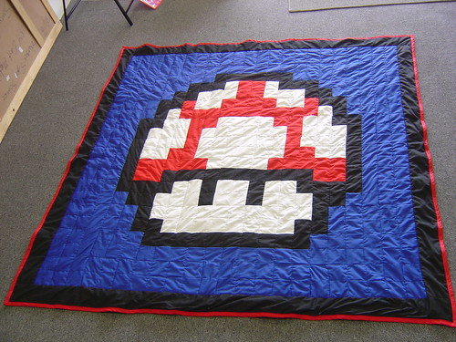 My mario Mushroom Quilt | by Chasing Threads