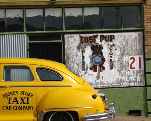 Broken Spoke Taxi Cab Company | by kevin dooley