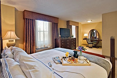 A View of a Suite at the Radisson Plaza-Warwick Hotel | by visitphilly.com