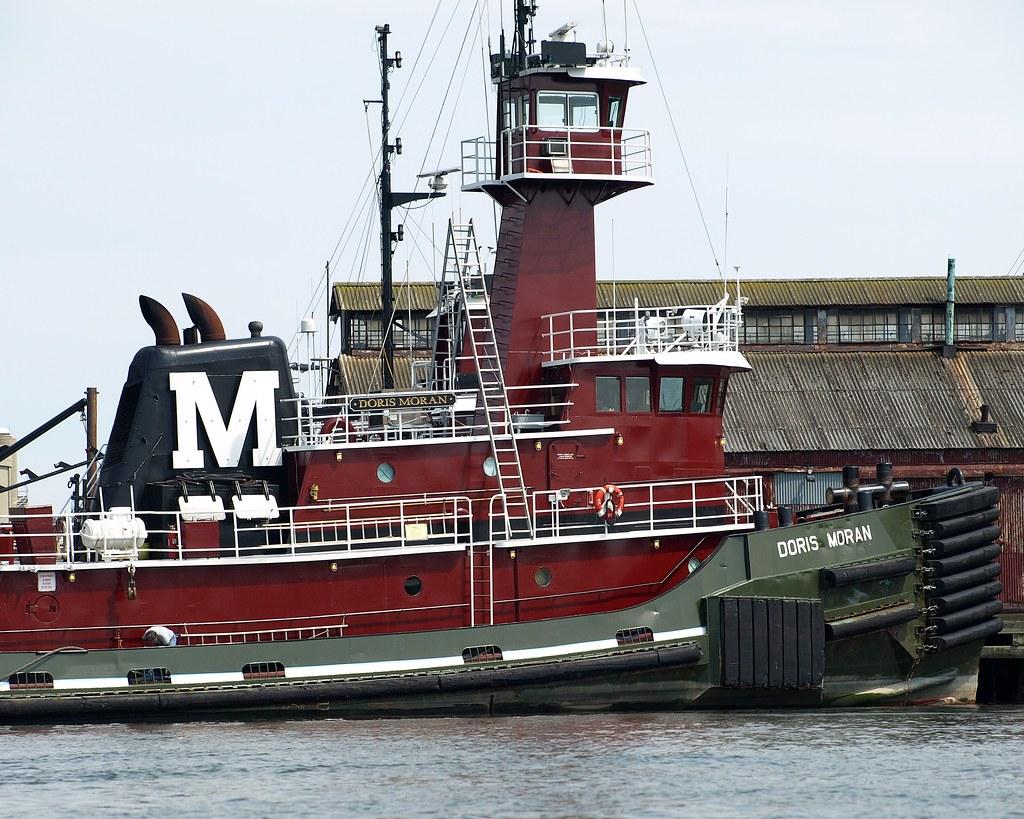 Language In 45 And 47 Stella Street: DORIS MORAN Tugboat, Kill Van Kull, Staten Island, New Yor