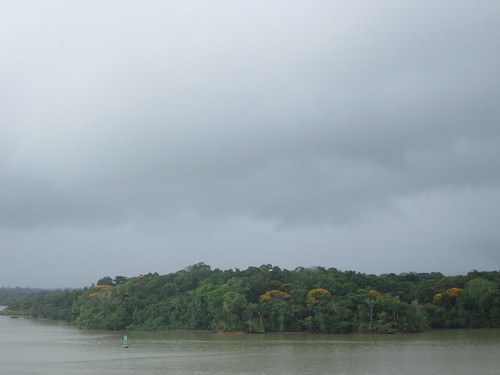 Panama Canal Skyline in the Rain | by melissabehring