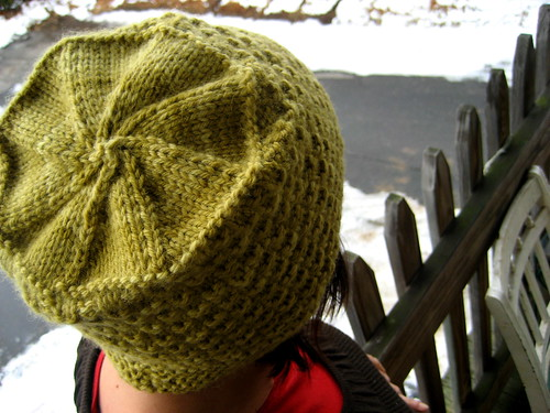 stella's hat top | by knitting school dropout