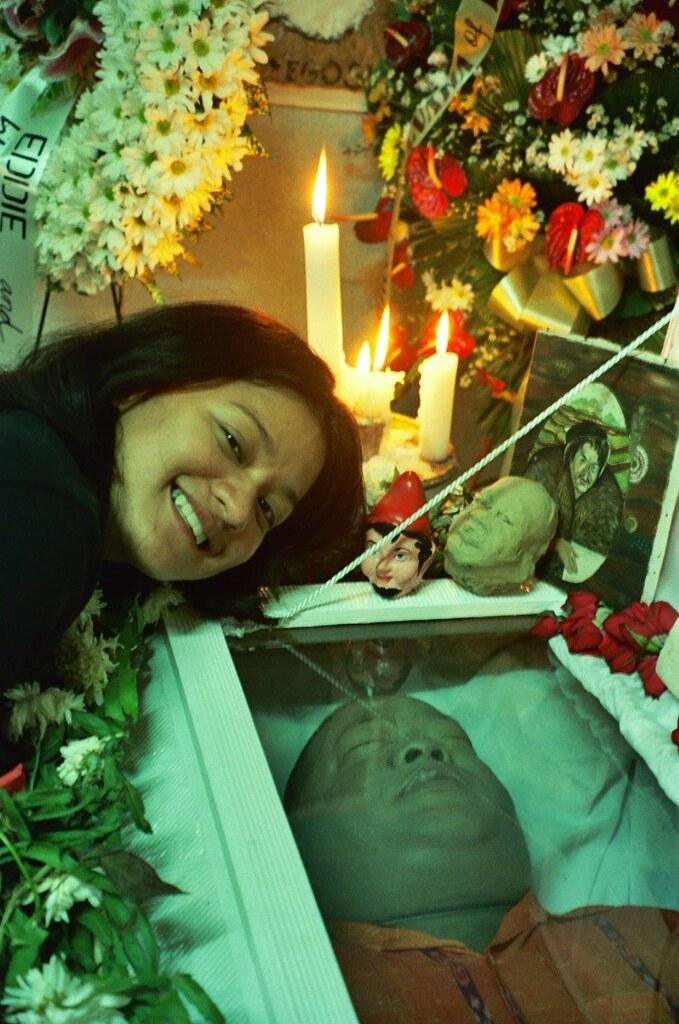 dad in his coffin lilledeshan bose flickr