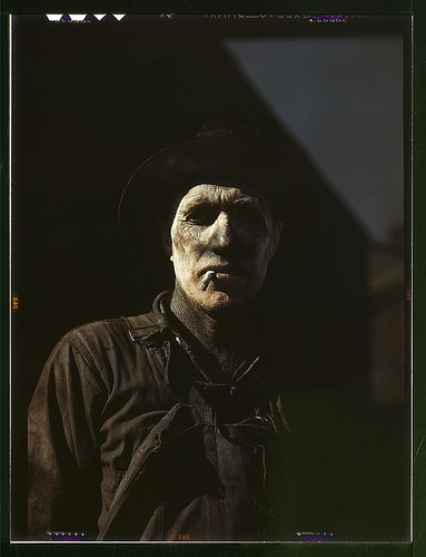 Worker at carbon black plant, Sunray, Texas  (LOC) | by The Library of Congress